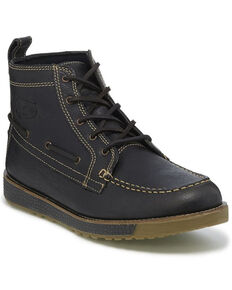 Justin Men's Charcoal Solace Boots - Moc Toe, Charcoal, hi-res