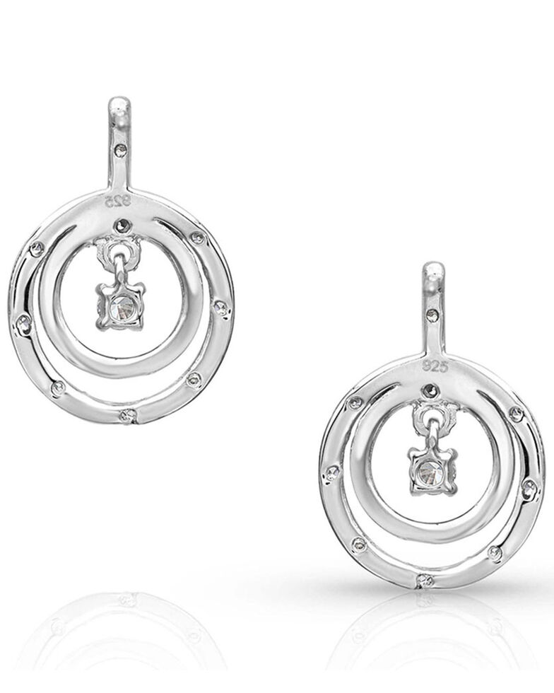 Montana Silversmiths Women's Haloed First Star Earrings, , hi-res
