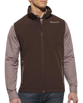 Ariat Vernon Softshell Vest, Coffee, hi-res