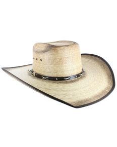 Cody James® Men's Palm Leaf Cowboy Hat, Natural, hi-res