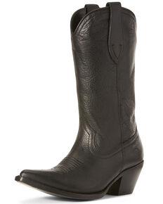 Ariat Women's Josefina Caviar Western Boots - Snip Toe, Black, hi-res