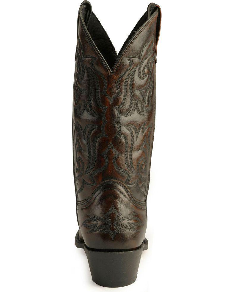Laredo Men's Hawk Western Boots, Burnt Apple, hi-res