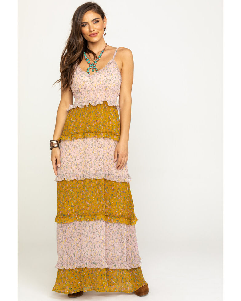 Show Me Your Mumu Women's Emira Itsy Floral Maxi Dress, Multi, hi-res
