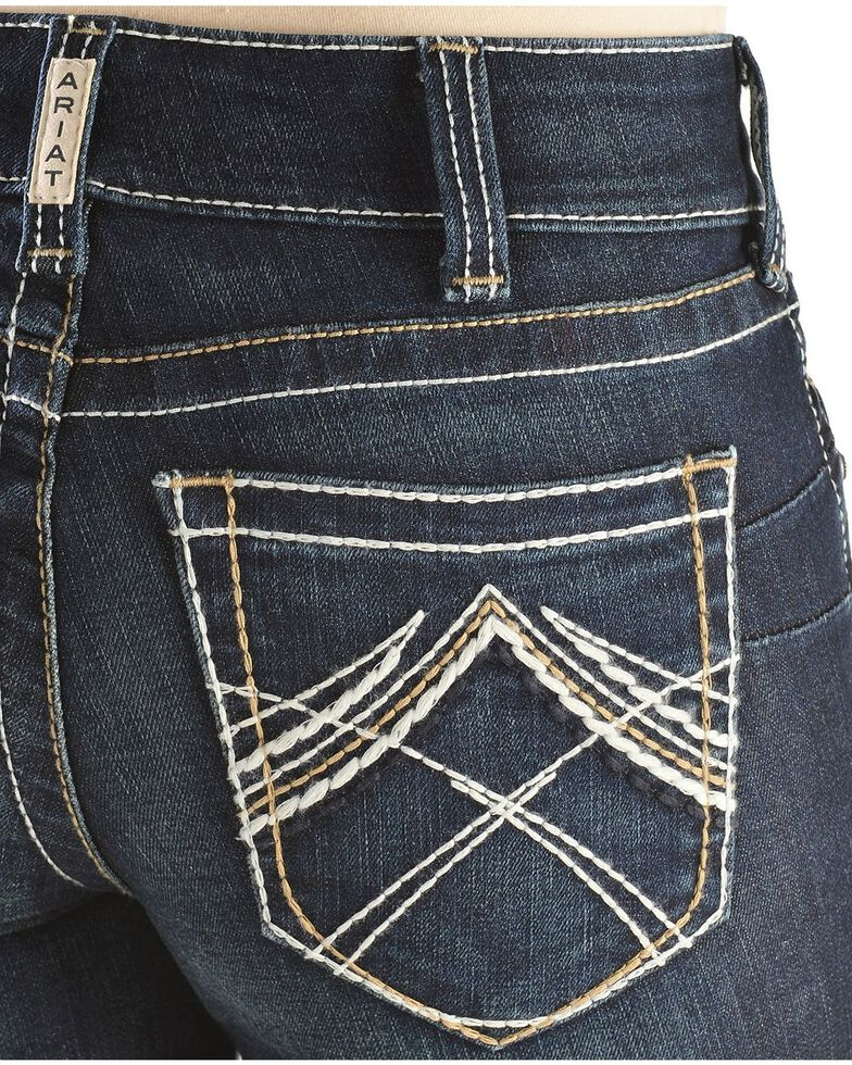 Ariat Women S Real Denim Boot Cut Riding Jeans Boot Barn
