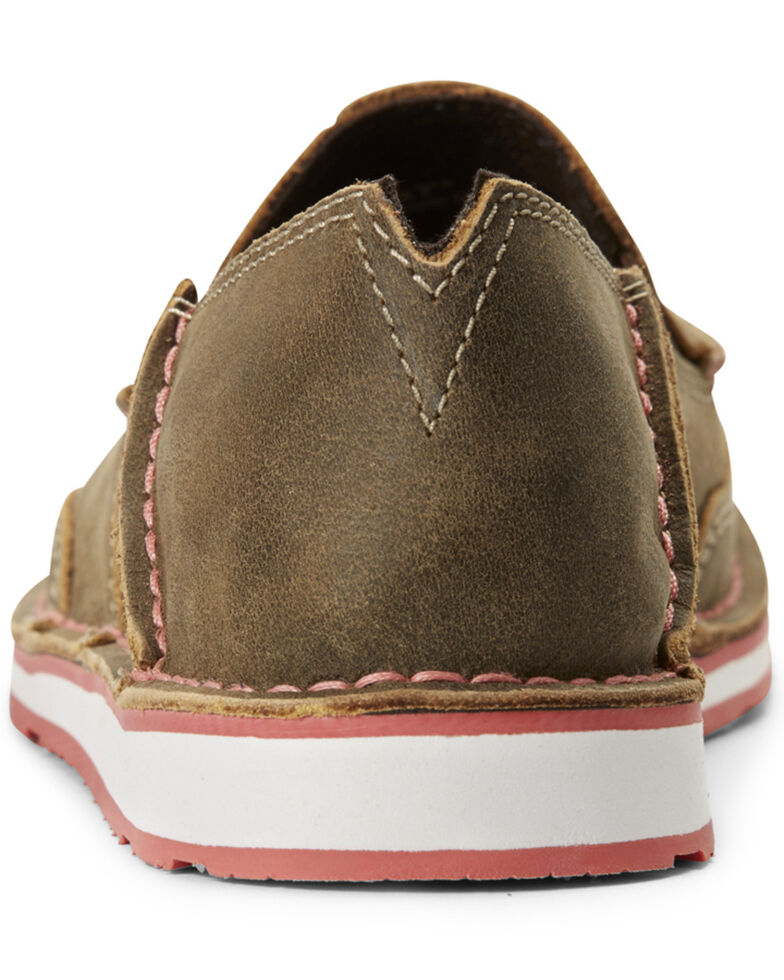 Ariat Women's Bomber Cruiser Shoes - Moc Toe, Brown, hi-res