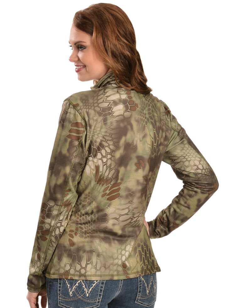 Ariat Women's Kryptek Yeti - Zip Jacket, Olive, hi-res