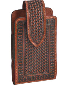 Justin Tan Magnetic Leather Cell Phone Case , Tan, hi-res