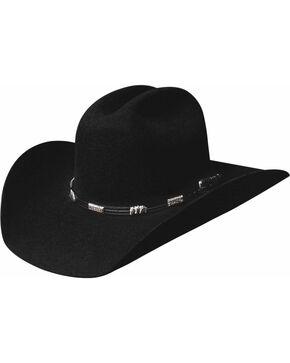 Bullhide Men's Rockford 4 X Wool Hat, Black, hi-res