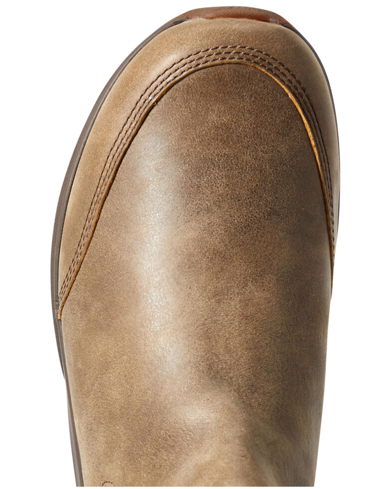 Ariat Men's Spitfire Bomber Boots - Round Toe, Brown, hi-res