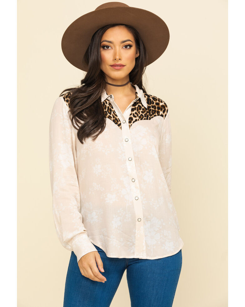 Ariat Women's Dolly Long Sleeve Western Shirt, Multi, hi-res