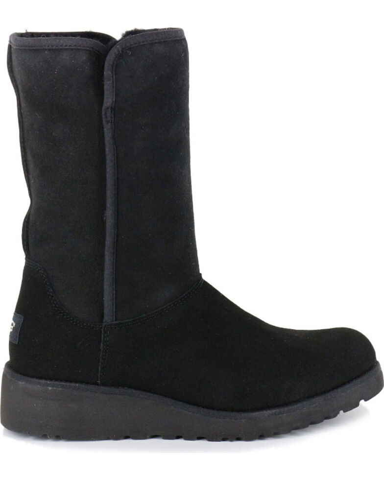 926de981afb UGG Women's Black Amie Casual Boots - Round Toe