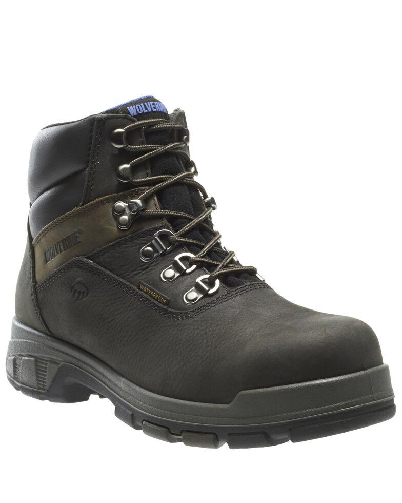 Wolverine Men's EPX Waterproof Work Boots - Compsite Toe, Black, hi-res
