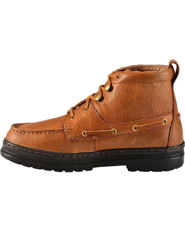 Justin Men's Casual Chukka Shoes, Copper, hi-res