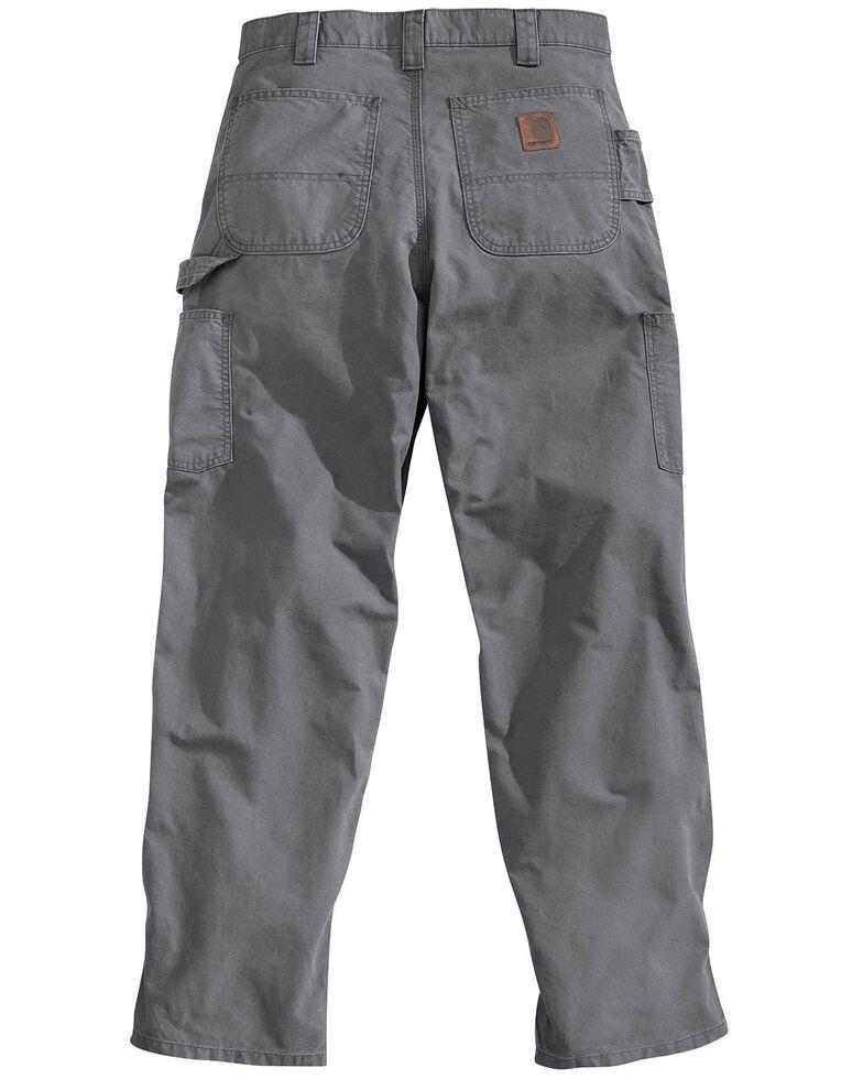 Carhartt Men's Canvas Dungaree Work Pants, Fatigue, hi-res
