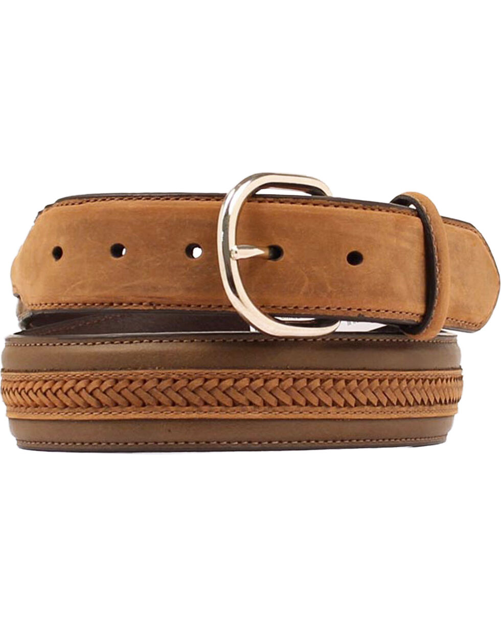 Nocona Centerlace Western Belt, Assorted, hi-res