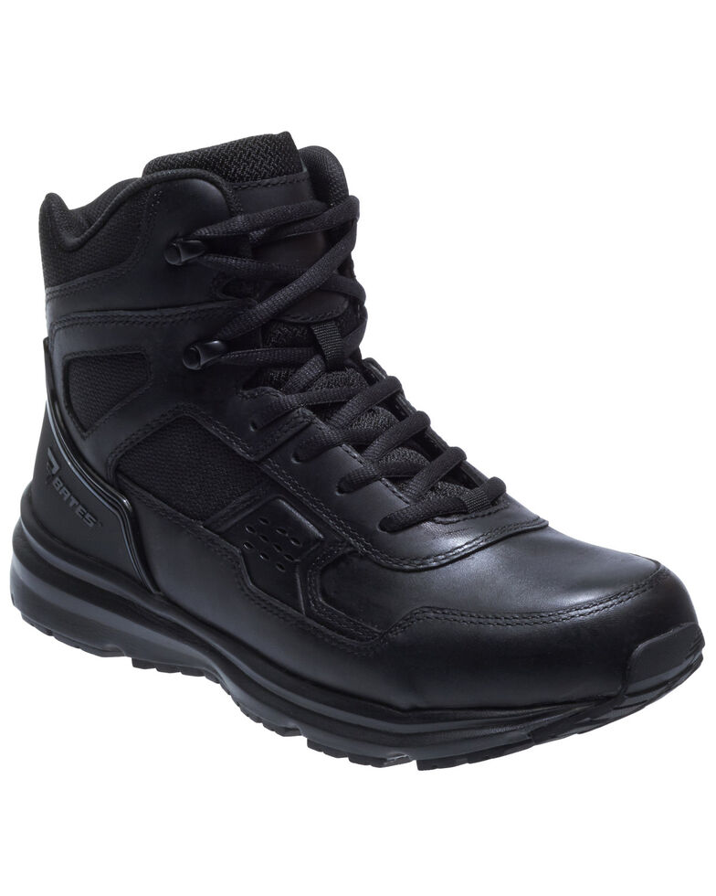 Bates Men's Raide Work Boots - Soft Toe, Black, hi-res