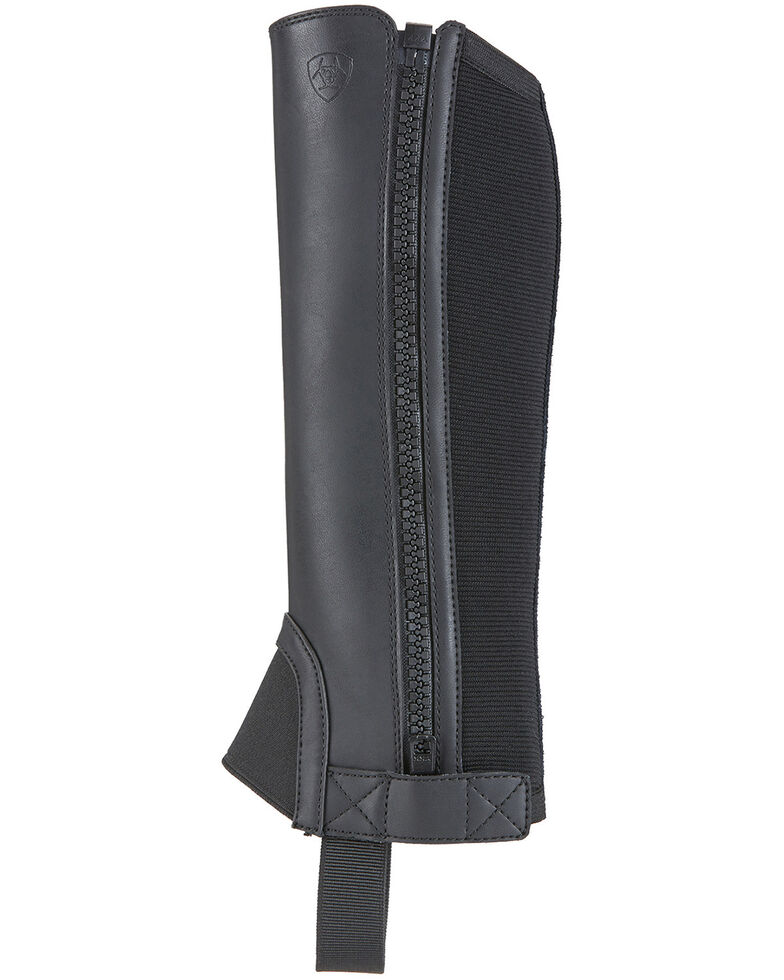 Ariat Kids' Scout Riding Chaps, Black, hi-res