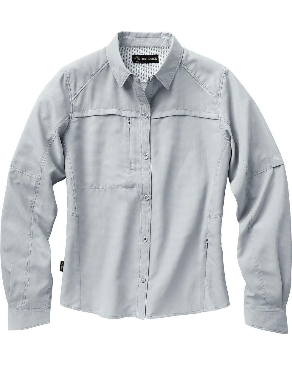 Dri Duck Women's Release Long Sleeve Shirt - Plus, , hi-res