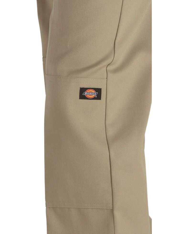 Dickies  Loose Fit Double Knee Work Pants - Big & Tall, Khaki, hi-res