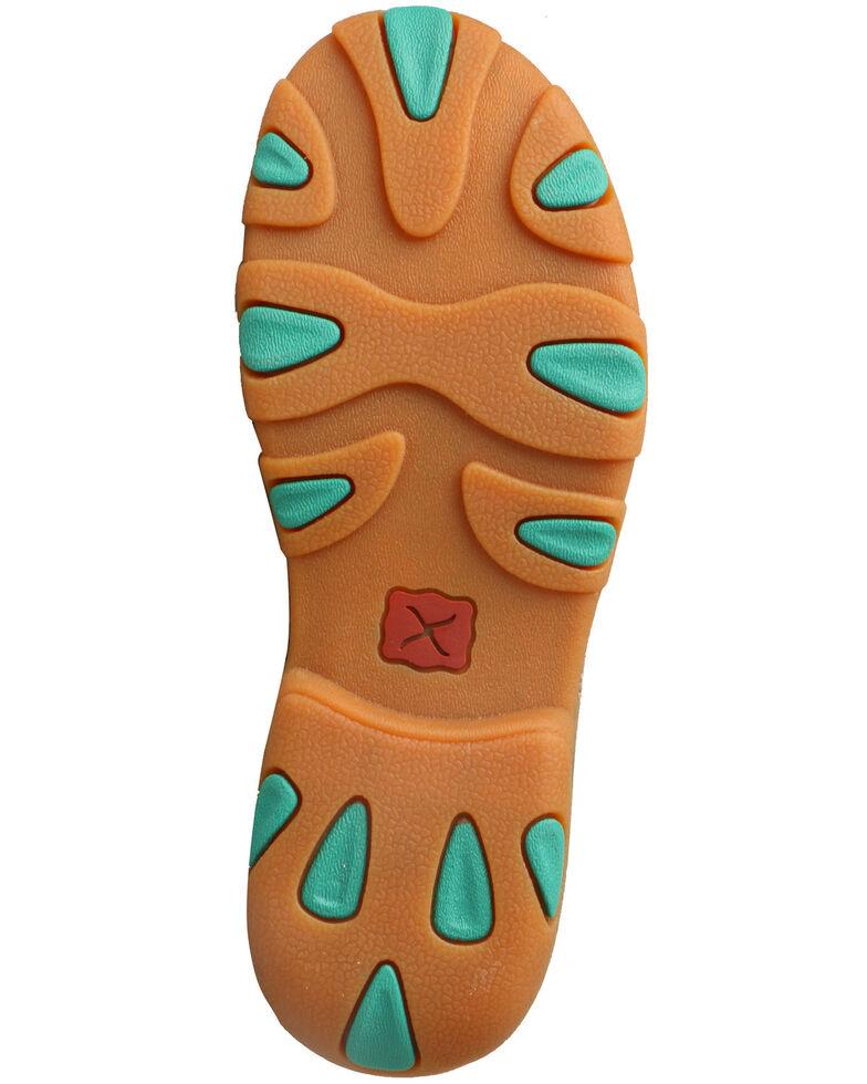 Twisted X Kids' Boat Shoes - Moc Toe, Grey, hi-res