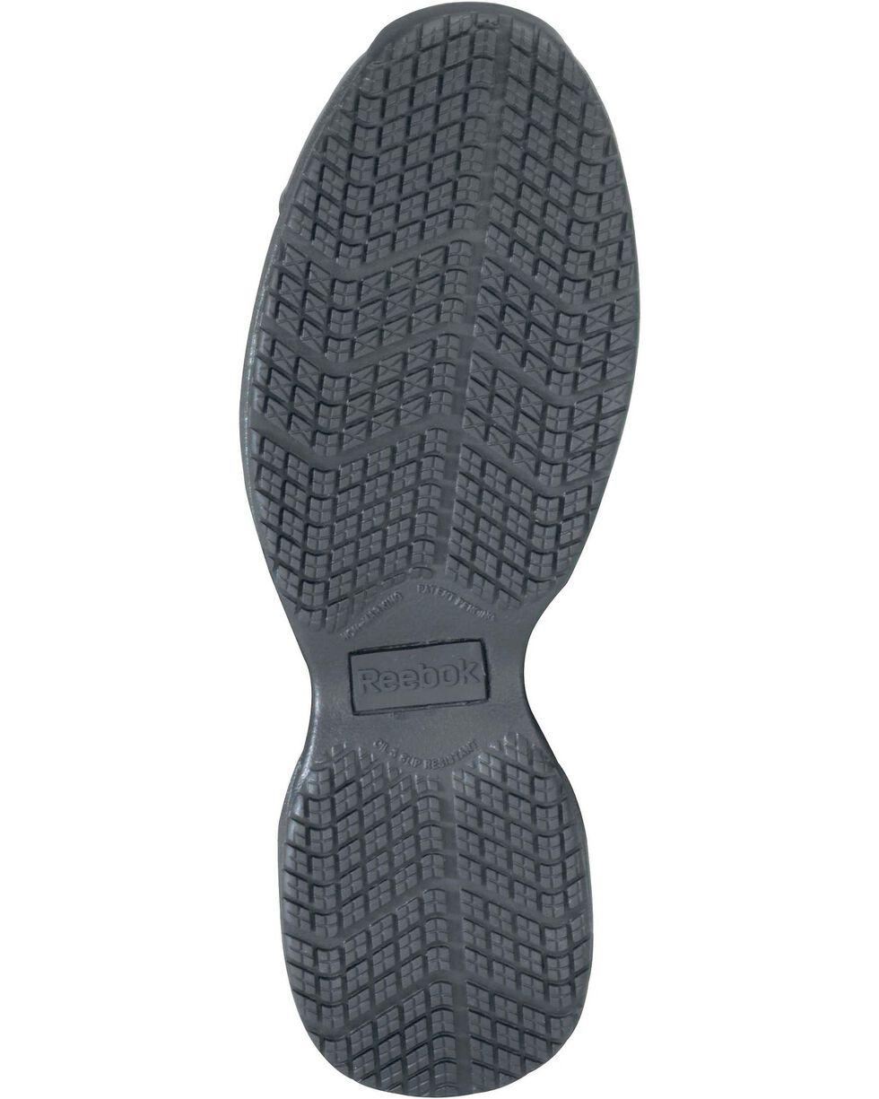 Reebok Men's Street Sport Jogger Oxford Work Shoes, Black, hi-res