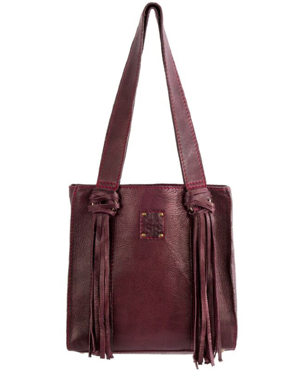 STS Ranchwear Women's Deep Wine Delilah Shopper, No Color, hi-res