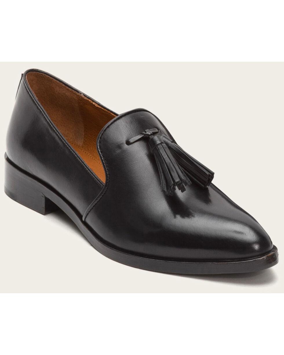 Frye Women's Erica Venetian Black Shoes - Pointed Toe , Black, hi-res