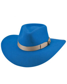 Bullhide Women's Royal Blue Street Gossip Western Wool Hat , Blue, hi-res