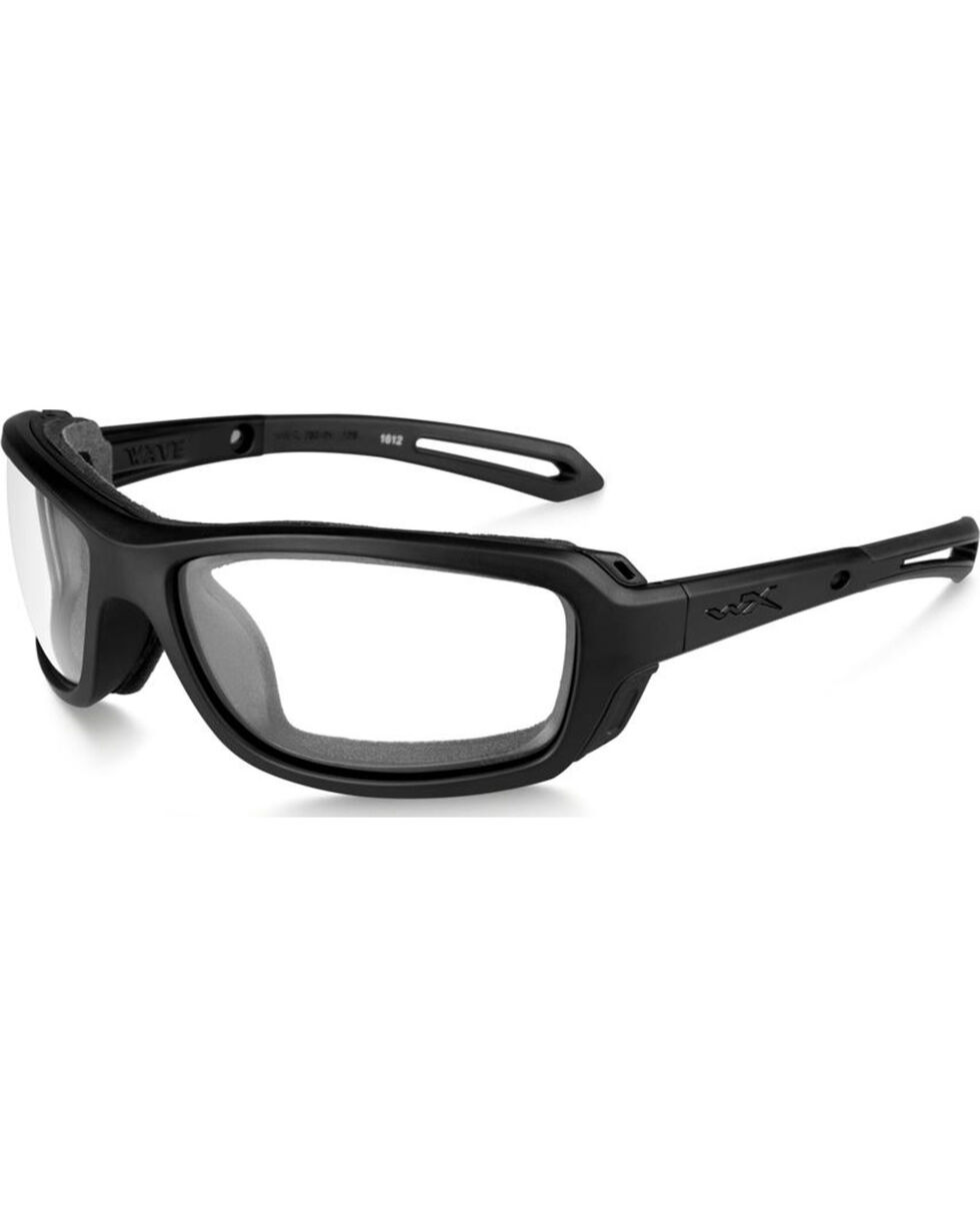 Wiley X Wave Clear Matte Black Sunglasses, Black, hi-res