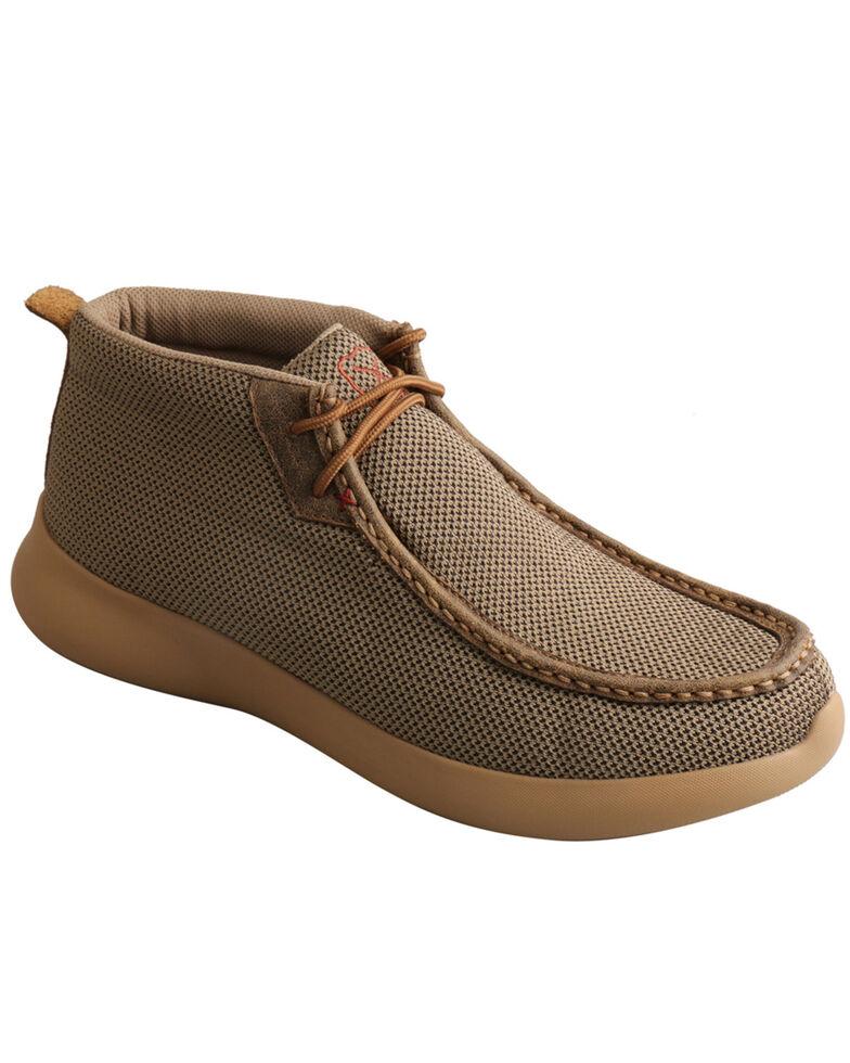 Twisted X Men's EVA12R Shoes - Moc Toe, Olive, hi-res