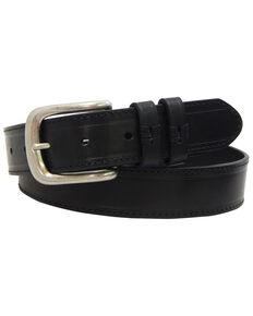 Danbury Men's Black Strap Work Belt - Big , Black, hi-res