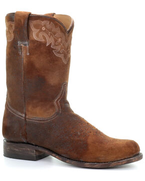 Corral Men's Lee Lamb Western Boots - Narrow Square Toe, Chocolate, hi-res