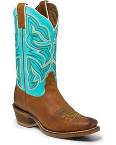 Nocona Women's Sabrina Western Boots, Cognac, hi-res