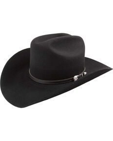 Bailey Western Wichita Cowboy Hat, Black, hi-res