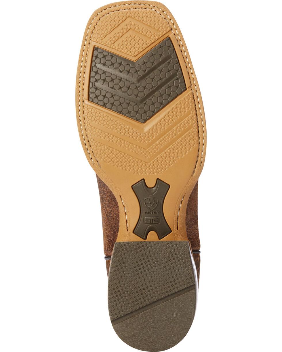 Ariat Men's Sand Branding Pen Scratched Western Boots - Square Toe , Sand, hi-res