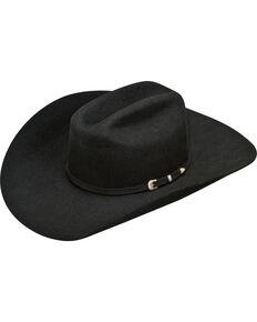 Ariat Men's Wool Cowboy Hat , Black, hi-res