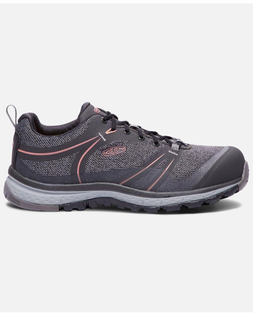 Keen Women's Sedona Work Shoes - Aluminum Toe, Black, hi-res