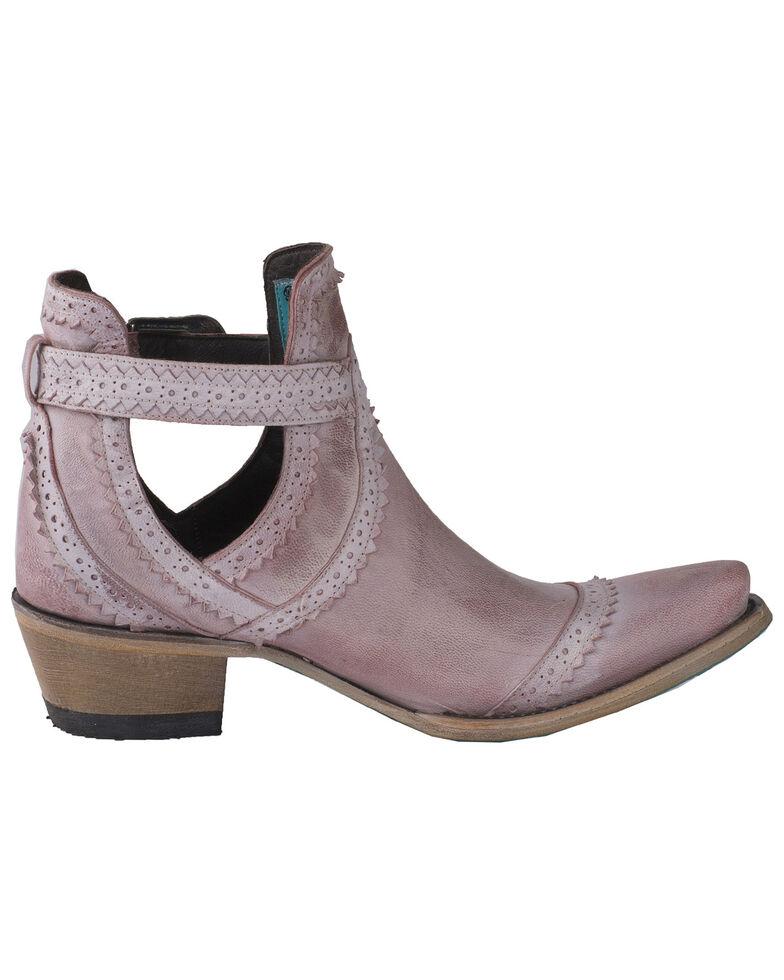 Lane Women's Blush Cahoots Western Booties - Snip Toe, Pink, hi-res