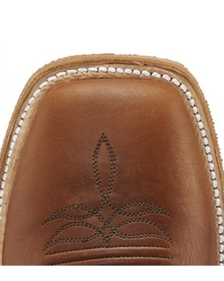 Justin Men's Brentwood Navigator Western Boots - Square Toe, Tan, hi-res
