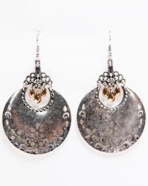 Shyanne Women's Filigree Dangle Earrings, Silver, hi-res