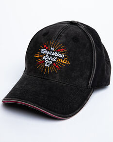 Moonshine Spirit Men's Electric Embroidered Ball Cap , Black, hi-res
