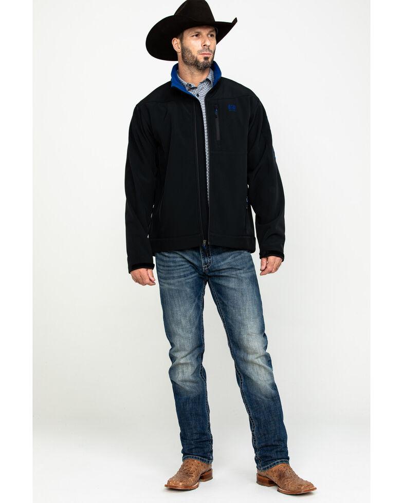 Cinch Men's Black Bonded Jacket , Black, hi-res