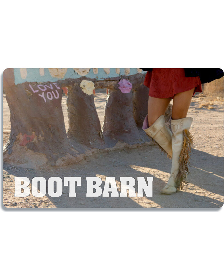 Boot Barn Woman In Boots Gift Card, No Color, hi-res