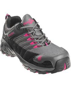 Nautilus Women's Composite Toe EH Athletic Work Shoes, Grey, hi-res