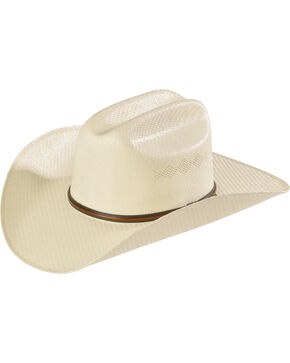 Twister 5X Shantung Double S Straw Cowboy Hat, Natural, hi-res