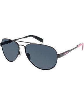 Realtree Women's Camo Aviator Sunglasses , Black, hi-res
