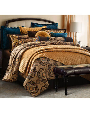 HiEnd Accents 4-Piece Loretta Super King Bedding Set, Multi, hi-res