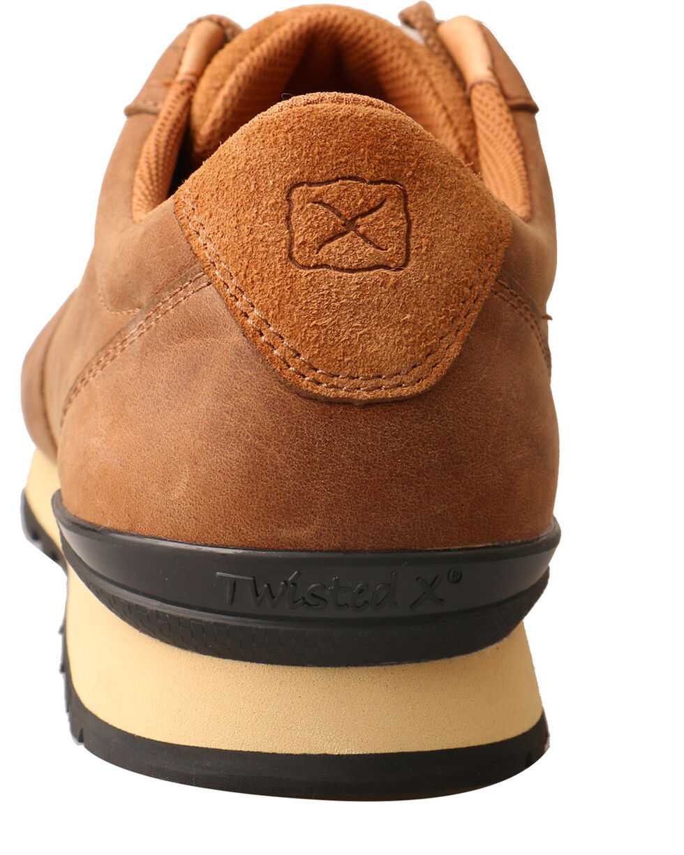 Twisted X Men's Saddle Brown Athleisure Shoes, Brown, hi-res