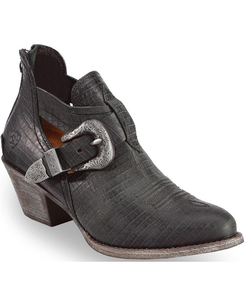 ariat femmes est est est dulce serpent noir pour les chaussons moyennes toe boot barn 16185f