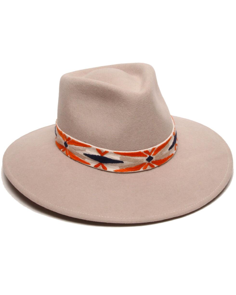 Physician Endorsed Women's Luna Tribal Hat, Orange, hi-res